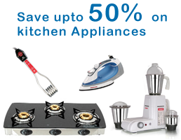 Save upto 50% on Kitchen Appliances